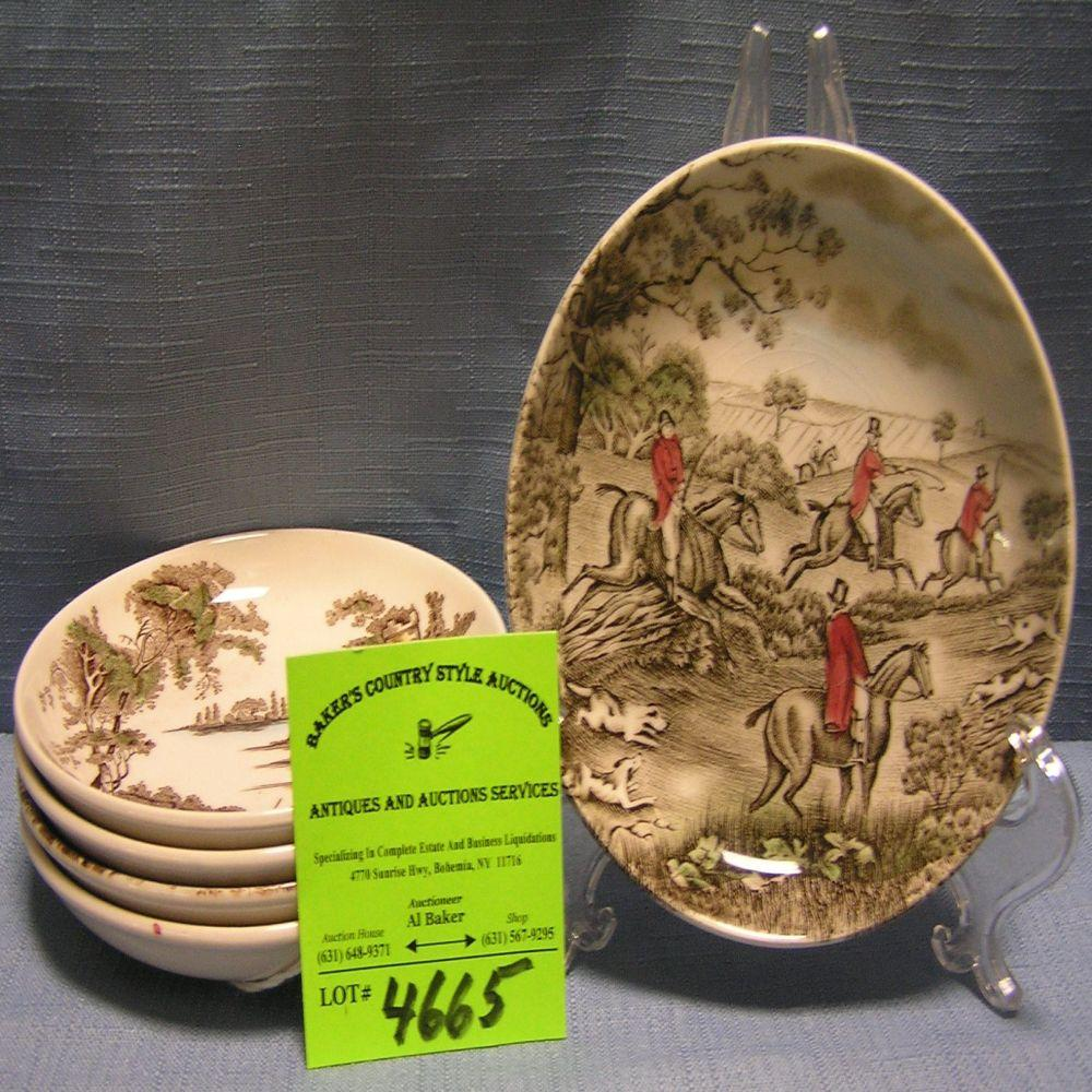 Miniature dishes by Johnson Brothers of England