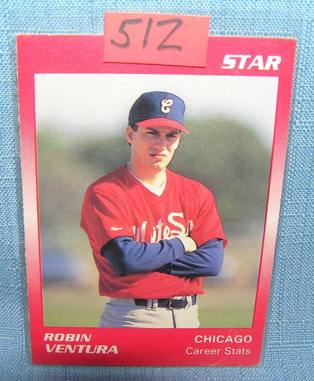 Robin Ventura Rookie Baseball Card