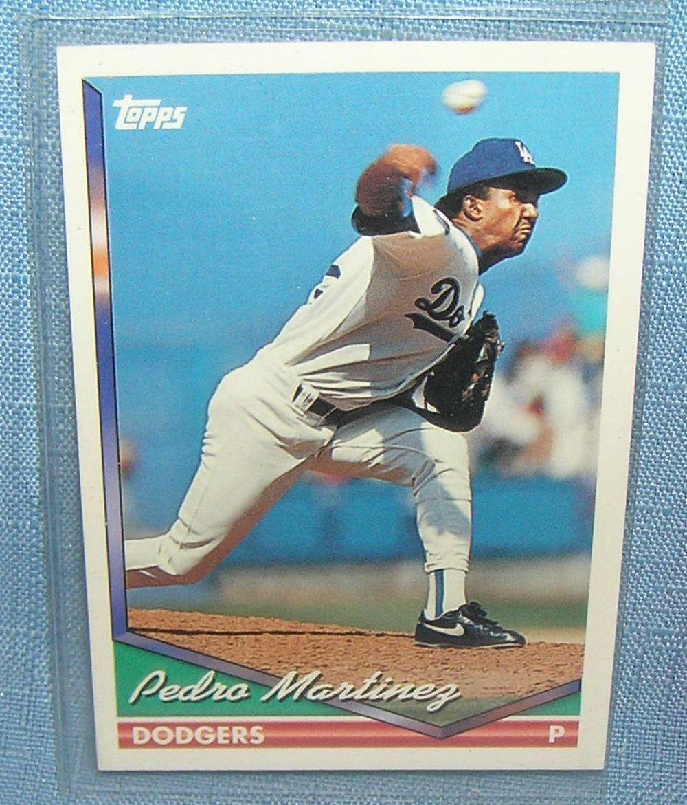 Vintage Pedro Martinez All Star Rookie Baseball Card