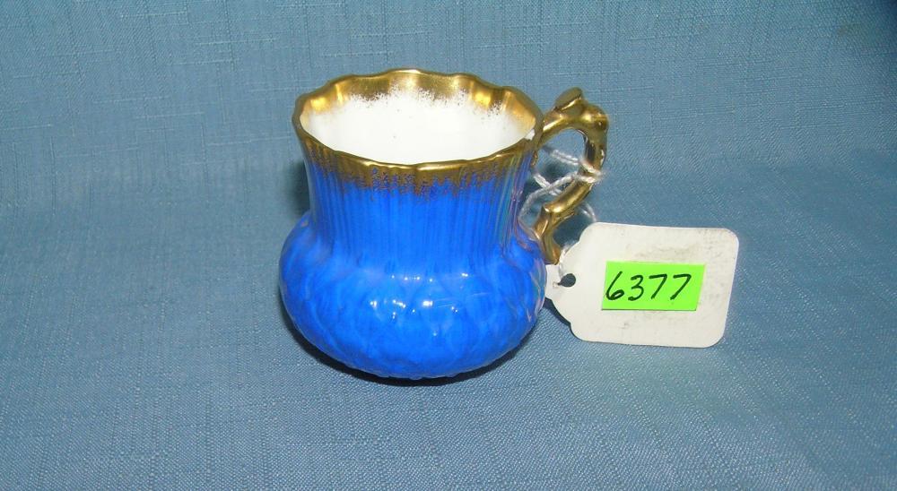 Porcelain cup signed on base Hammersly
