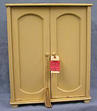 Vintage two door storage cabinet