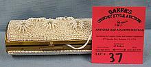 Vintage beaded trinket box
