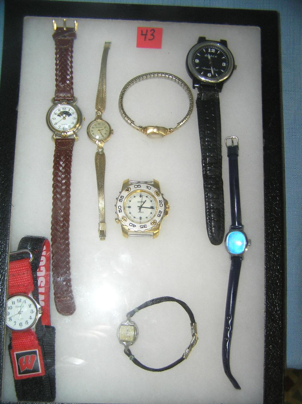 COLLECTION OF ANTIQUE, VINTAGE AND MODERN WATCHES