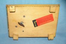 Lot 97: HAND PAINTED SWISS MECHANICAL MUSICAL JEWELRY BOX