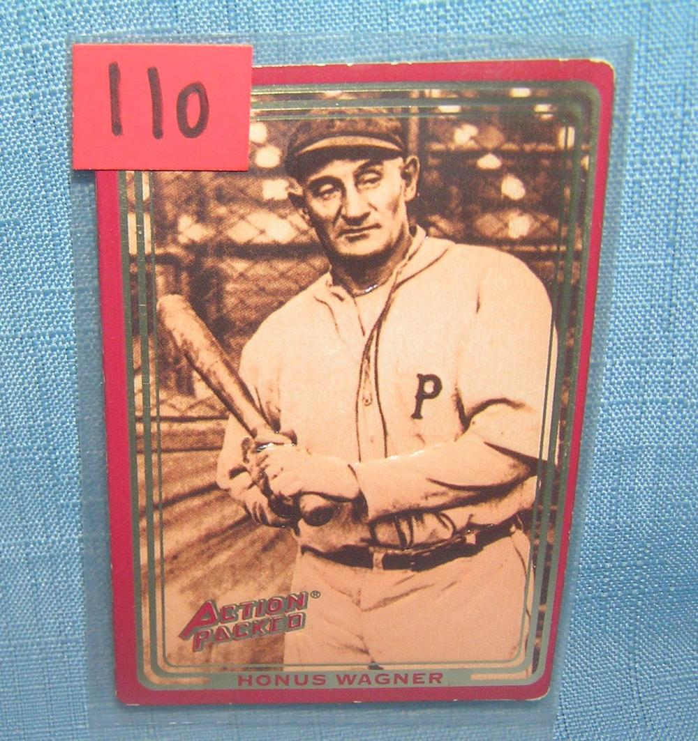 HONUS WAGNER ALL STAR BASEBALL CARD