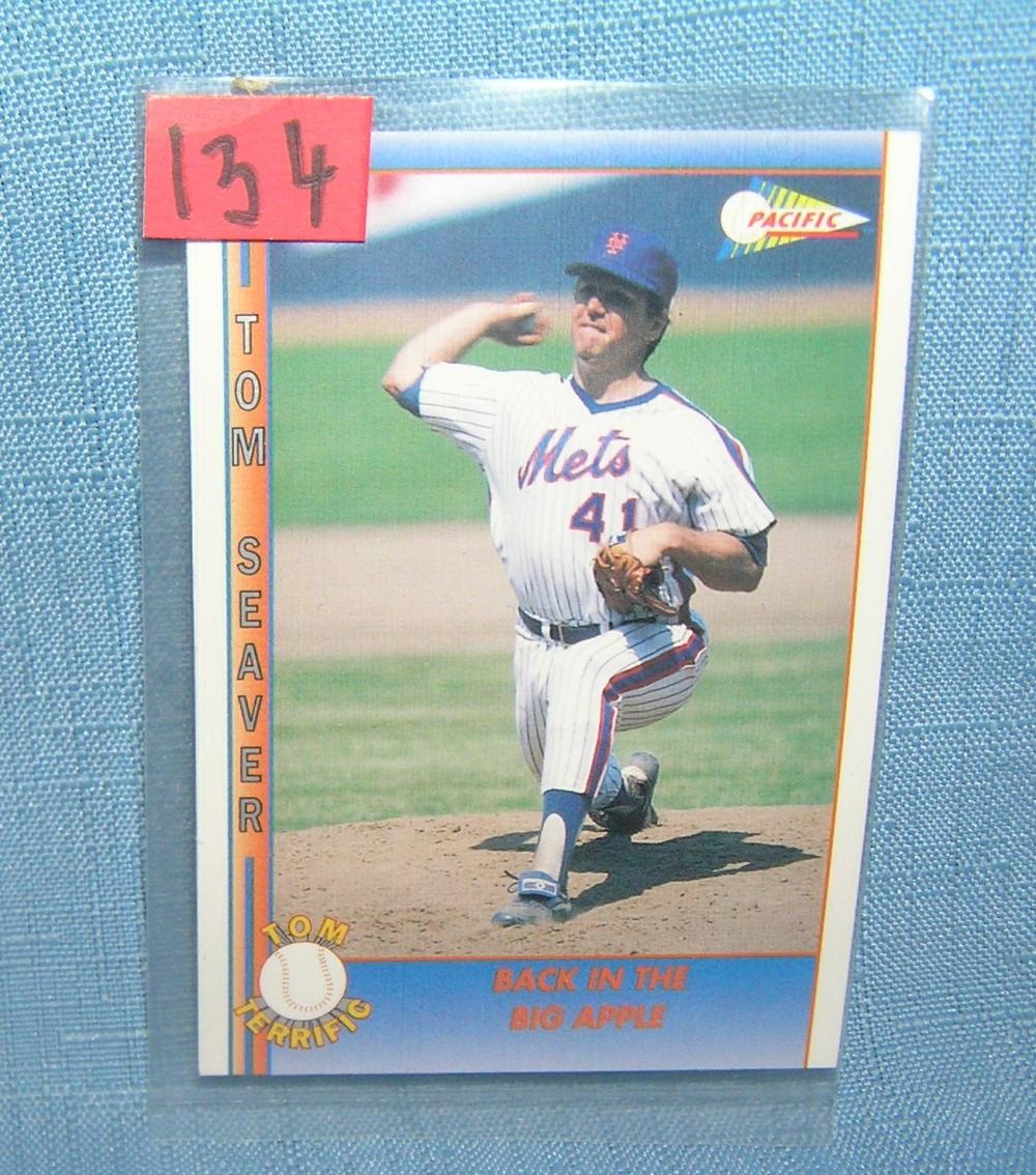 TOM SEAVER ALL STAR BASEBALL CARD