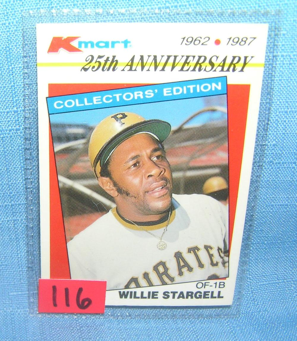 VINTAGE WILLIE STARGELL ALL STAR BASEBALL CARD