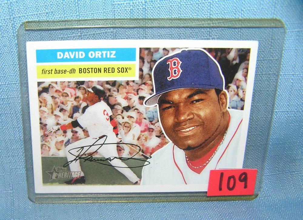 VINTAGE DAVID ORTIZ BIG POPPY ALL STAR BASEBALL CARD