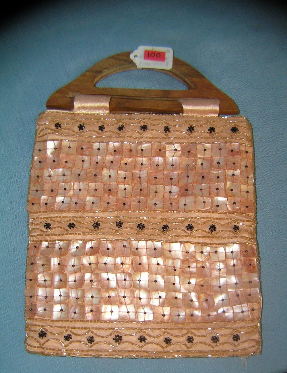 QUALITY BEADED HAND BAG BY EXPRESSIONS OF NY CITY