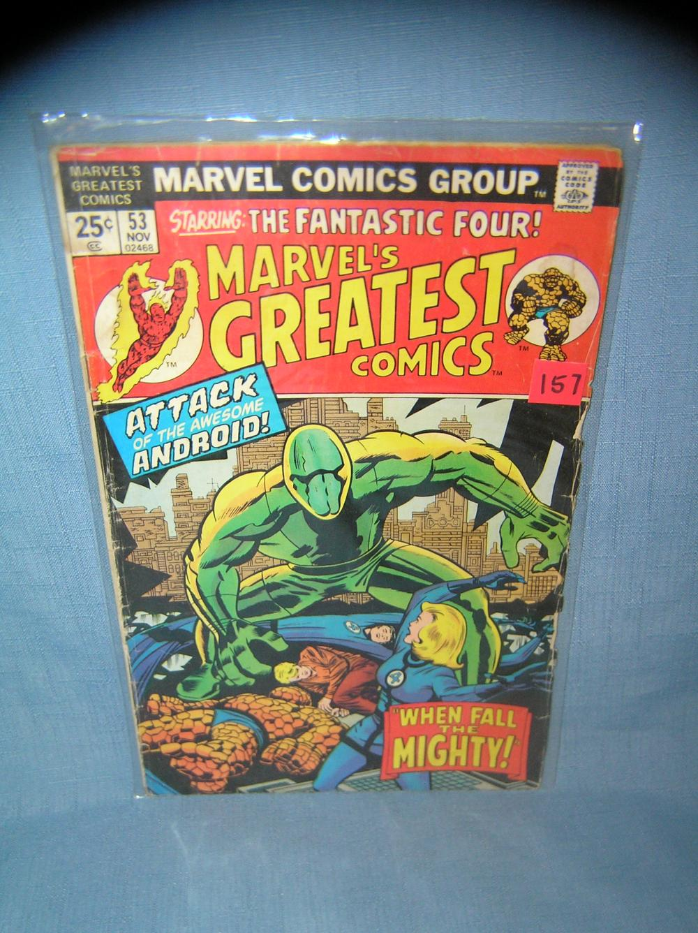 EARLY MARVEL'S GREATEST COMICS COMIC BOOK