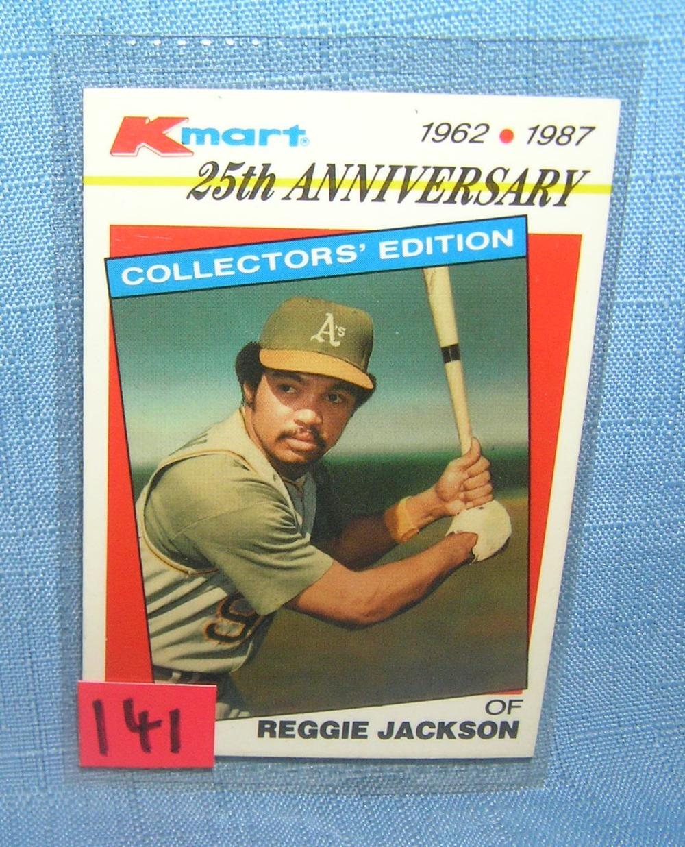 VINTAGE REGGIE JACKSON ALL STAR BASEBALL CARD