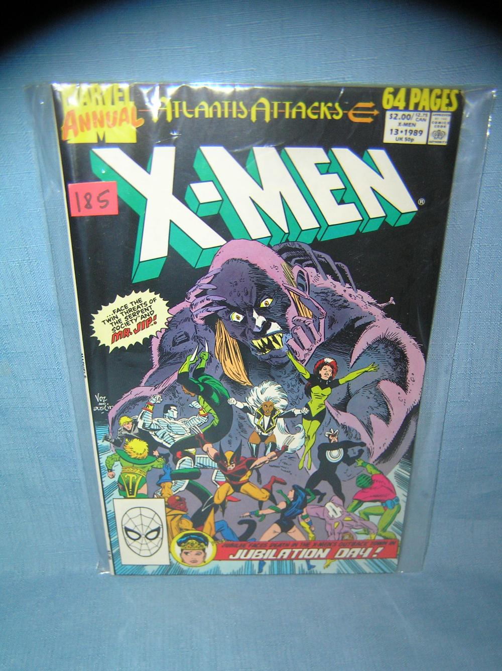 VINTAGE XMEN COMIC BOOK ANNUAL