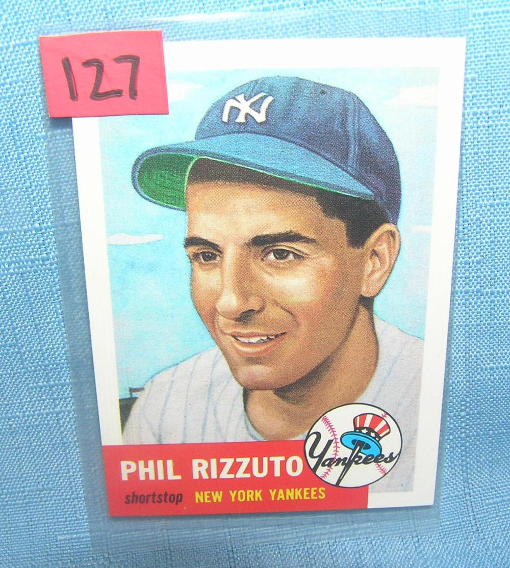 PHIL RIZZUTO ALL STAR RETRO BASEBALL CARD