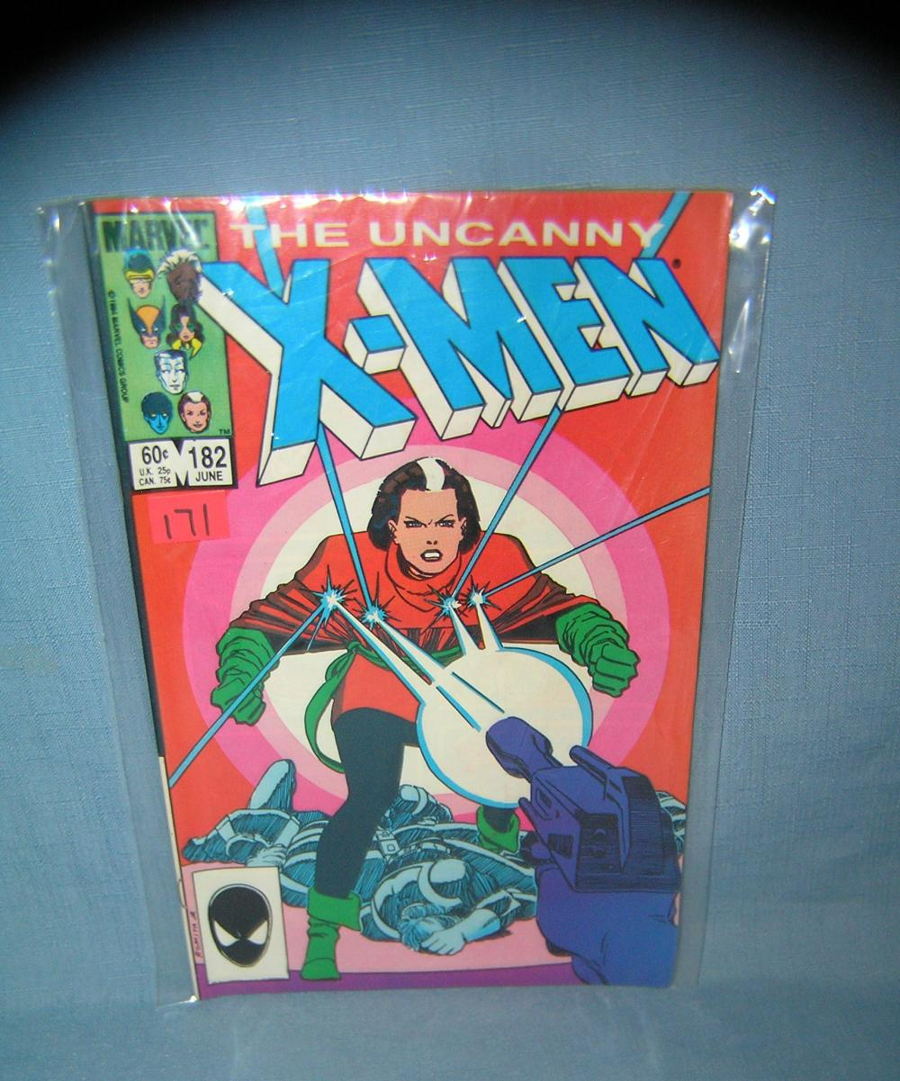 EARLY XMEN COMIC BOOK 1983