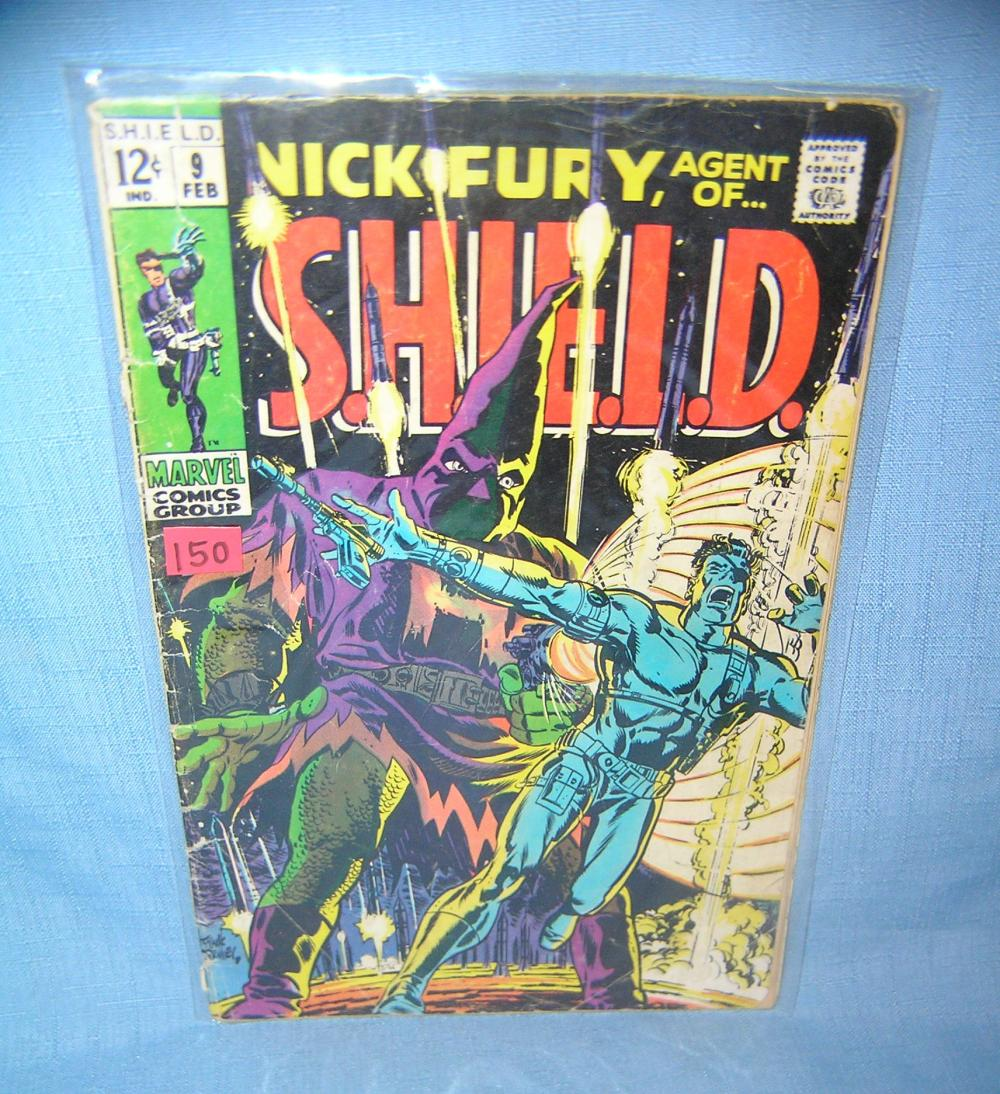 Lot 150: EARLY NICK FURY COMIC BOOK