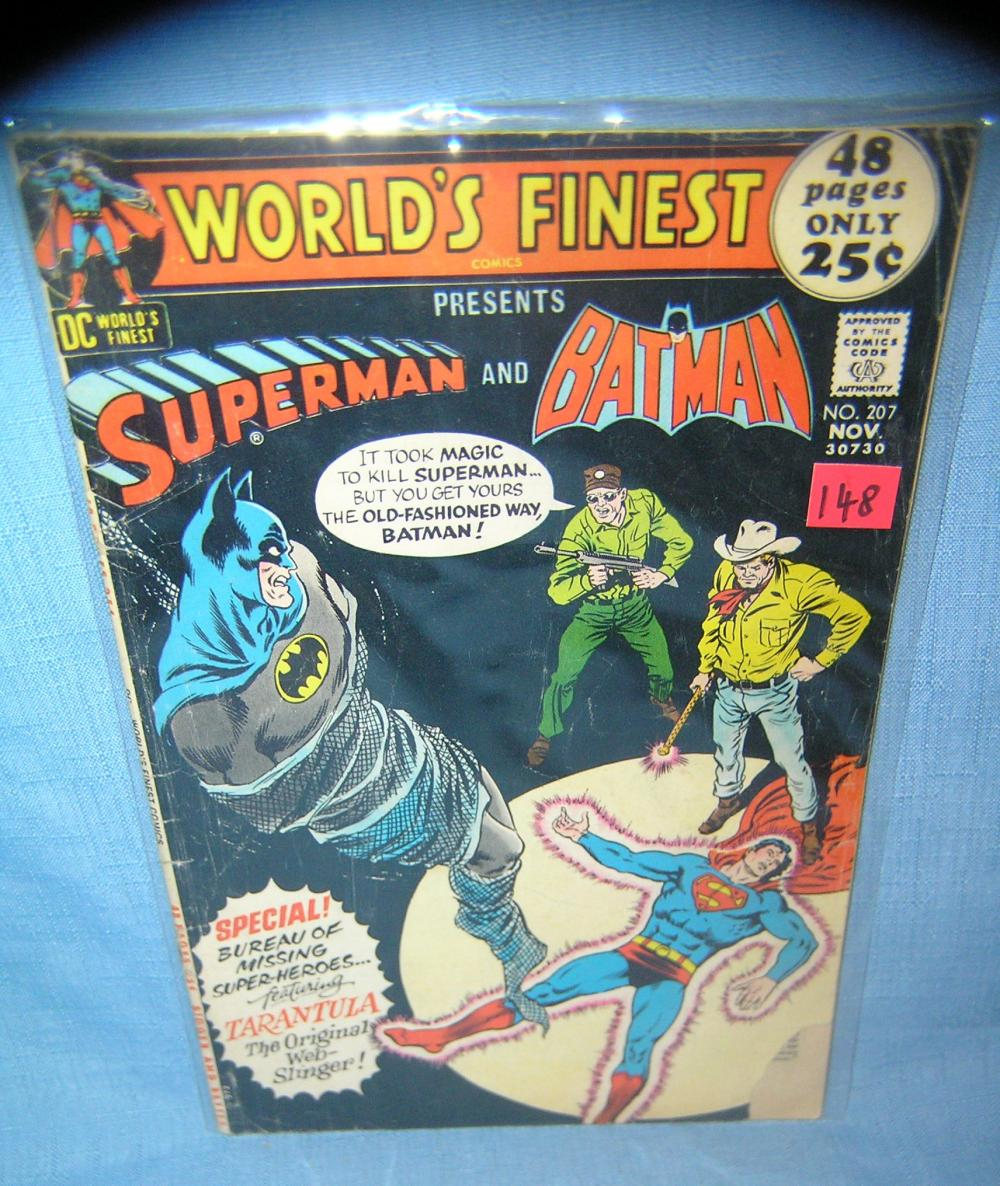 WORLD'S FINEST COMIC BOOK W/ SUPERMAN AND BATMAN