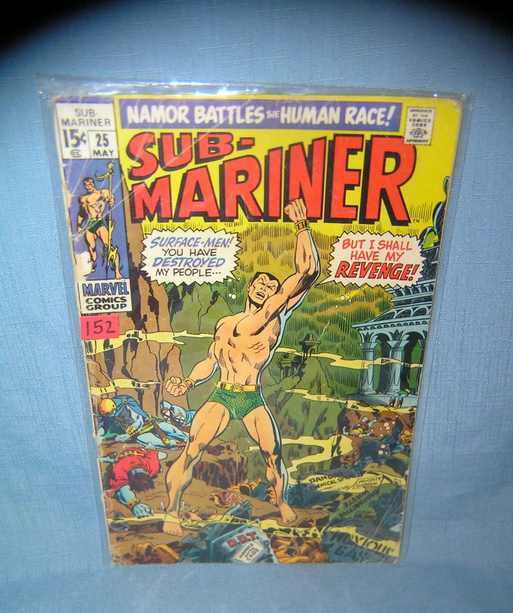 EARLY SUBMARINER COMIC BOOK