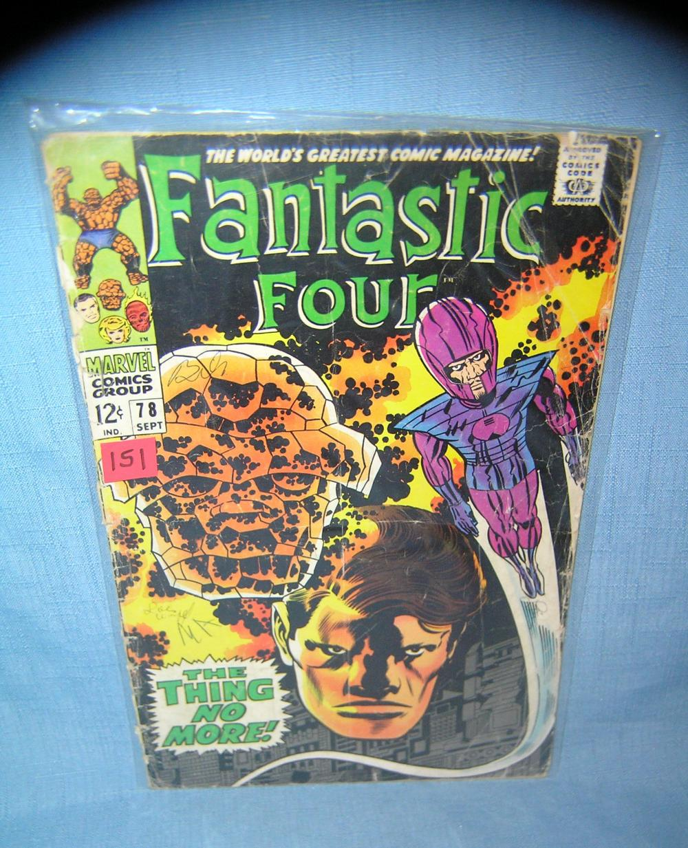 EARLY FANTASTIC 4 COMIC BOOK