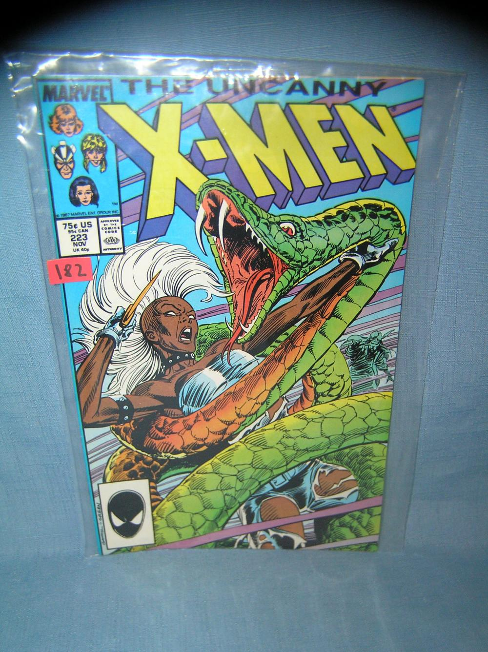 EARLY XMEN COMIC BOOK 1986