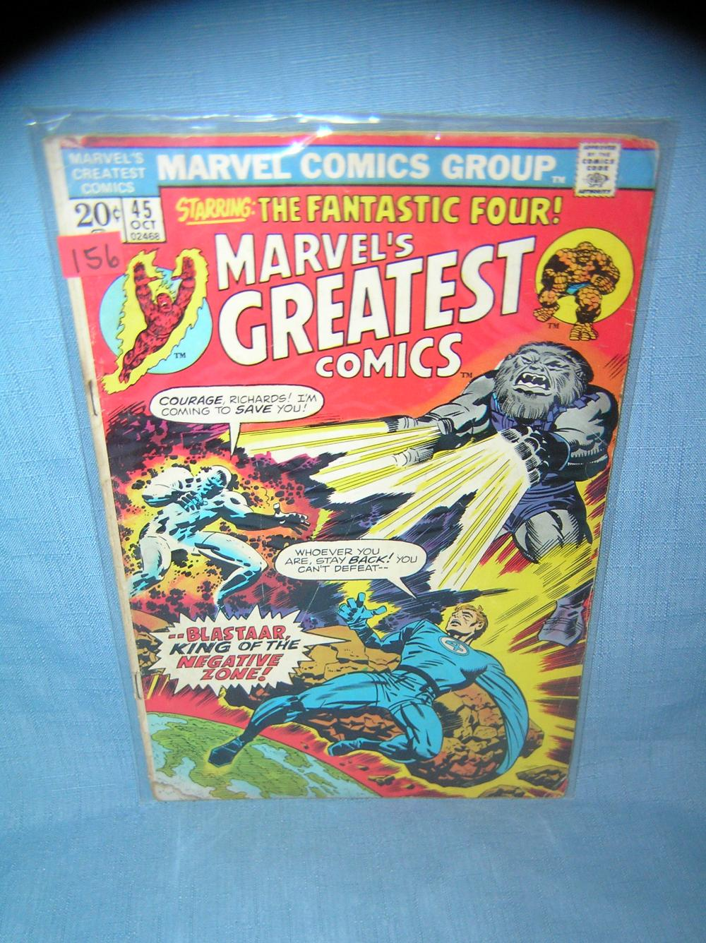 Lot 156: EARLY MARVEL'S GREATEST COMICS COMIC BOOK