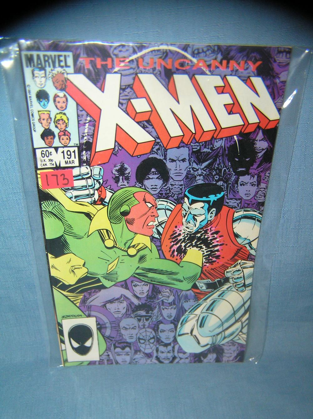 Lot 173: EARLY XMEN COMIC BOOK 1984