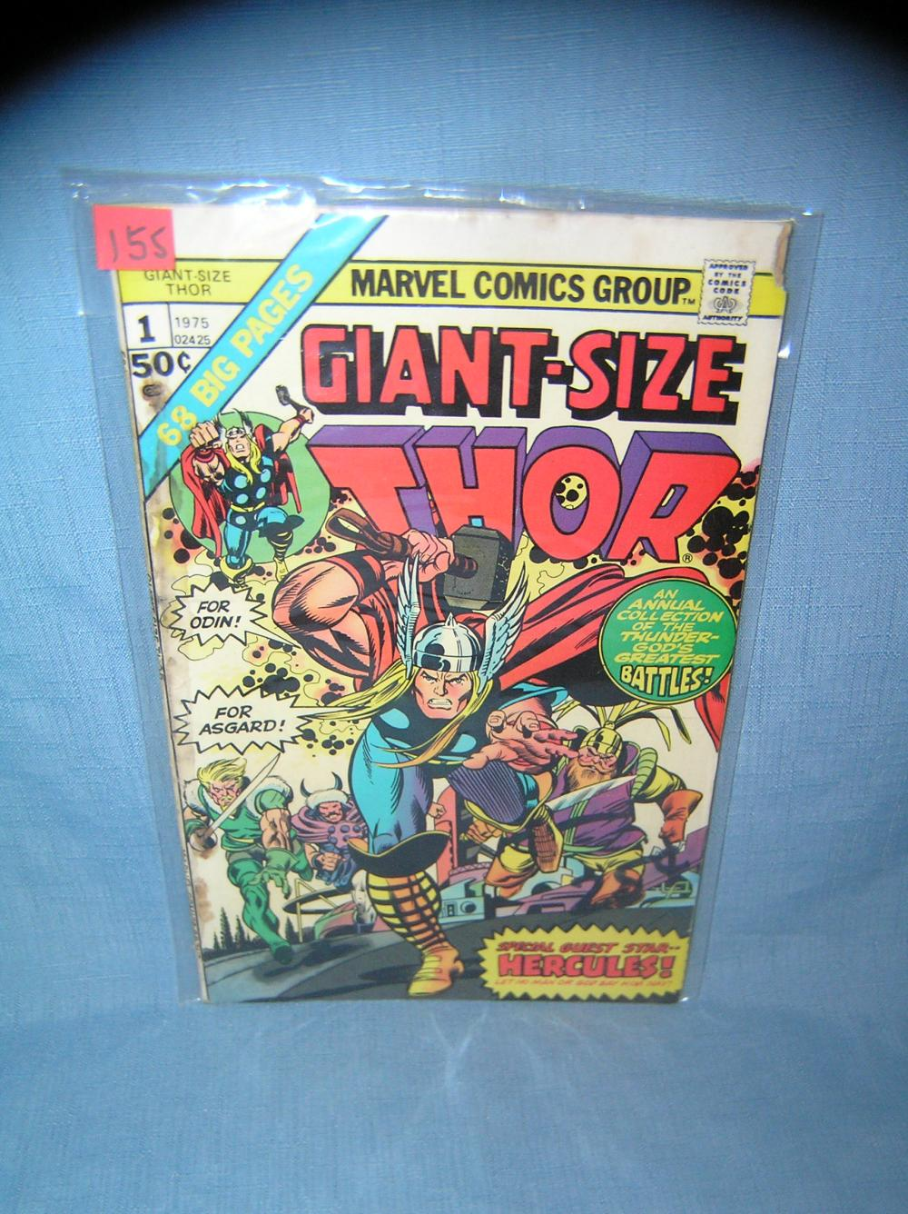 EARLY MARVEL GIANT SIZE THOR COMIC BOOK