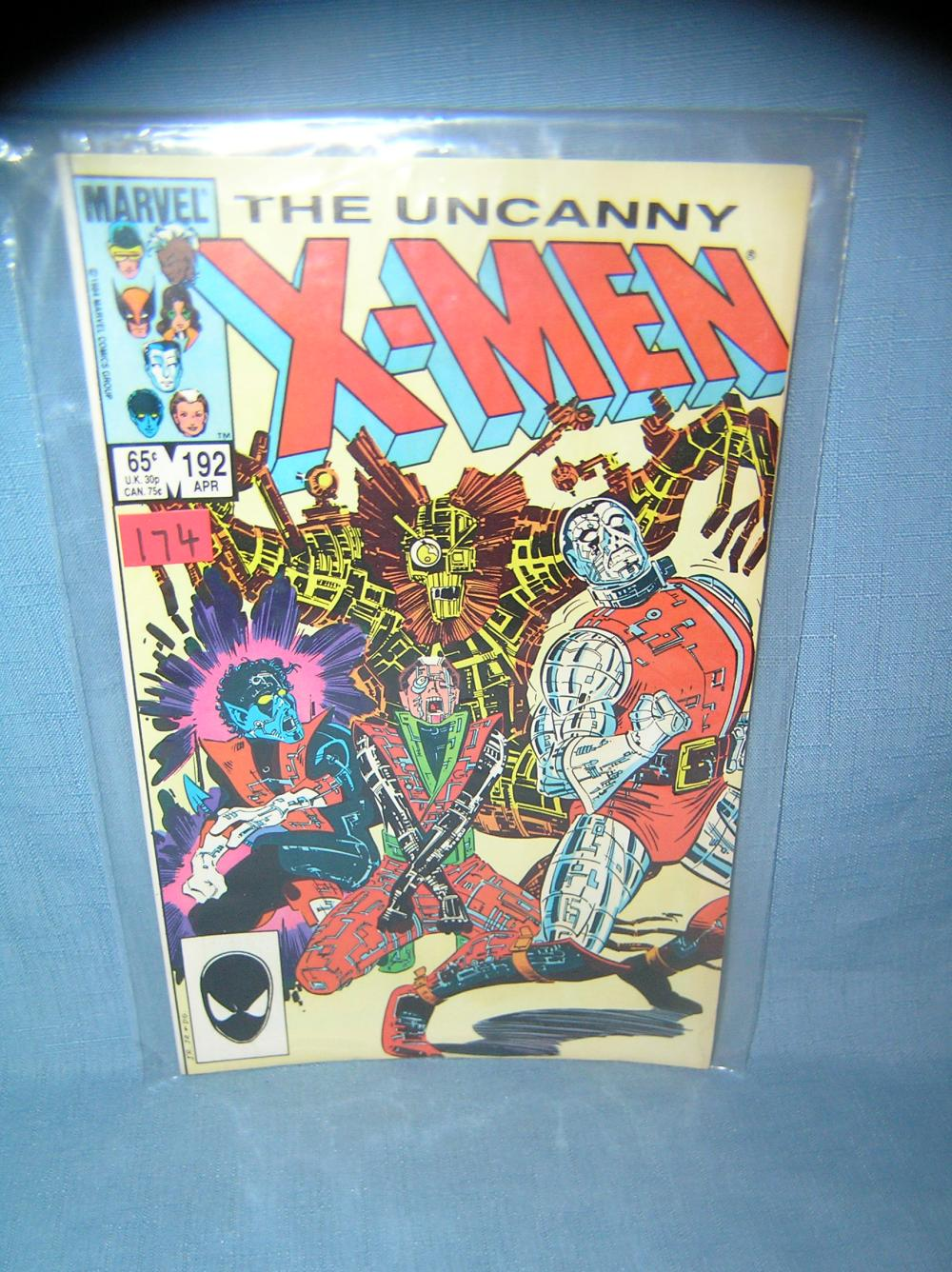 Lot 174: EARLY XMEN COMIC BOOK 1984