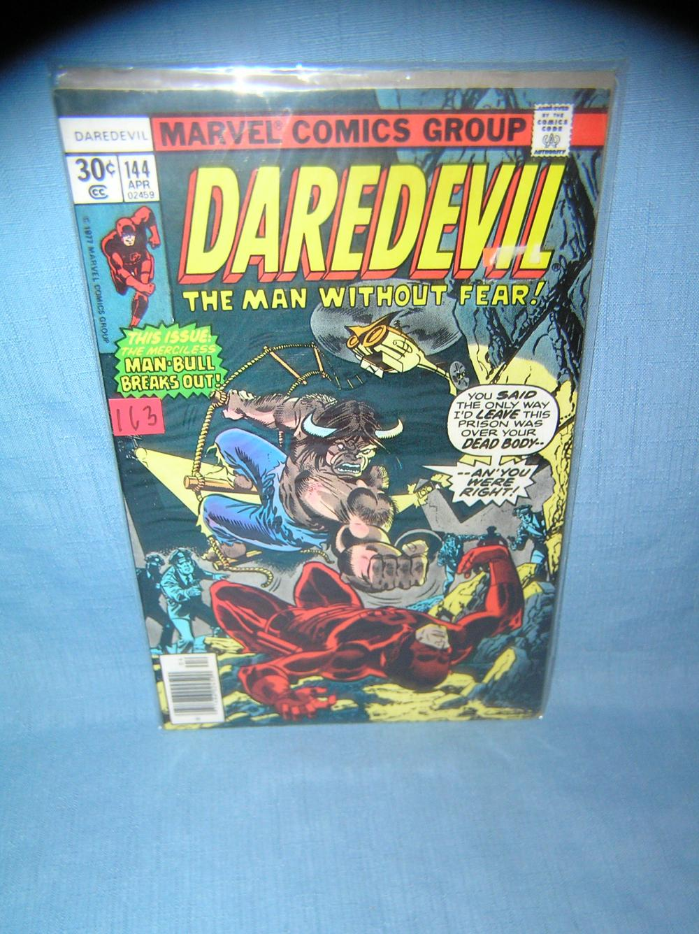 EARLY MARVEL DAREDEVIL COMIC BOOK FEATURING MAN BULL