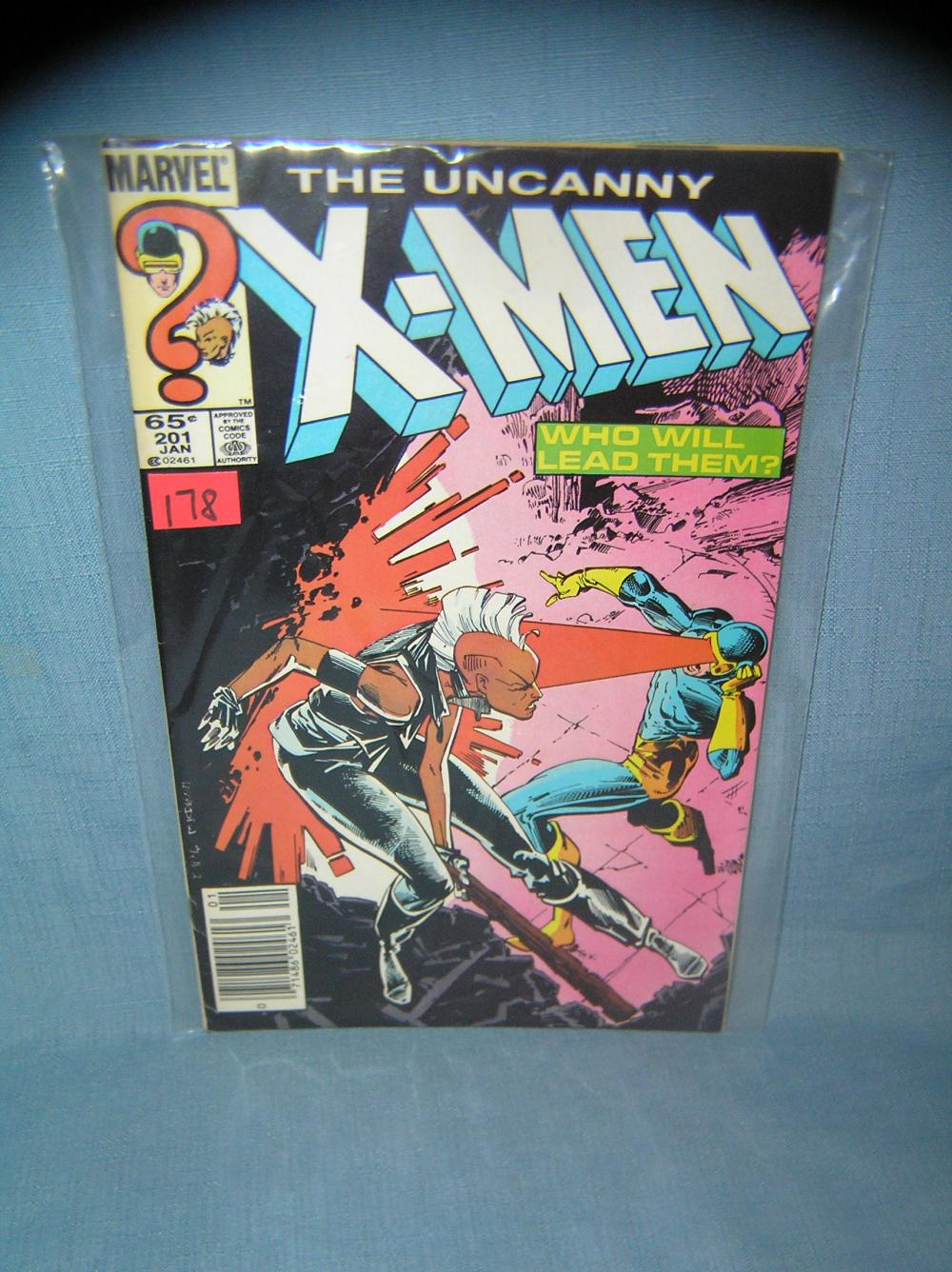 EARLY XMEN COMIC BOOK 1984