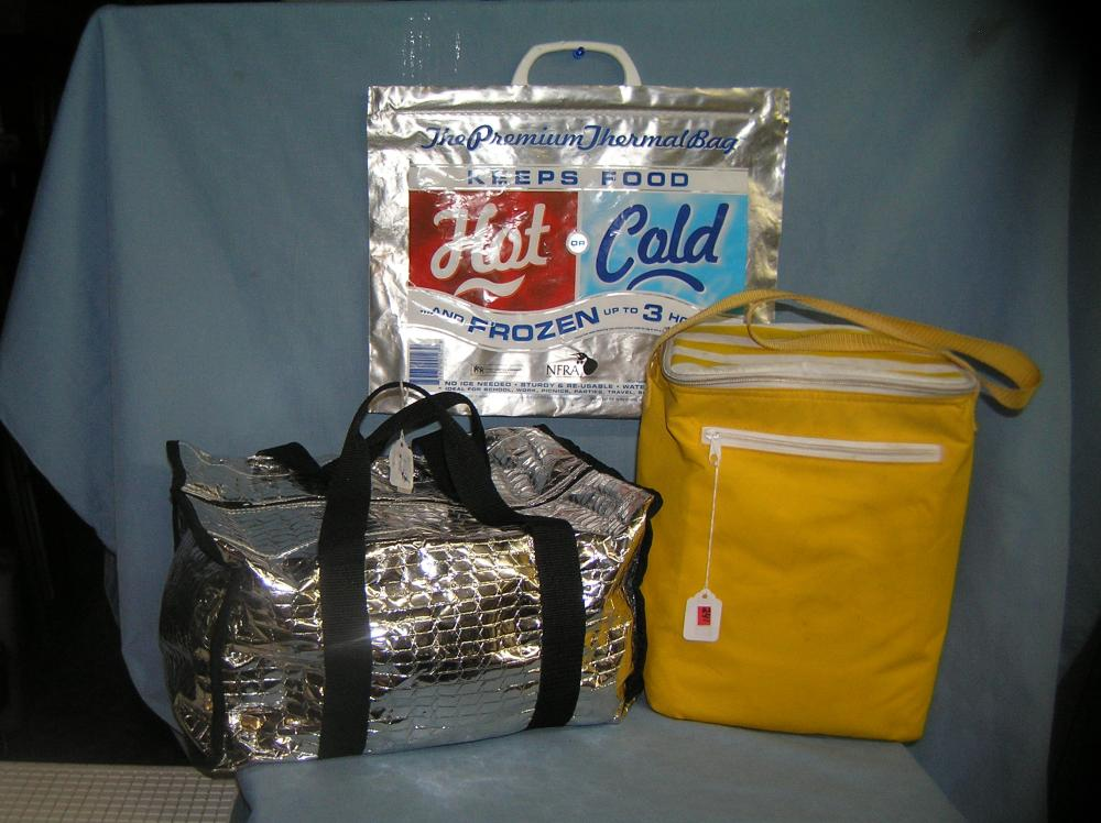 Lot 241: GROUP OF 3 COOLER BAGS