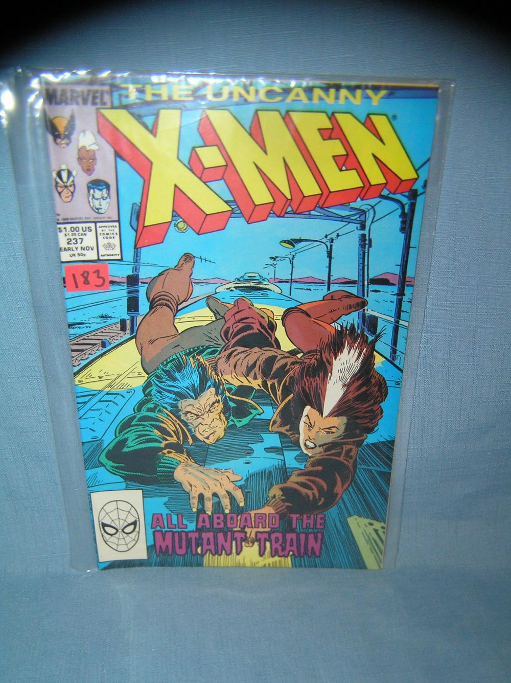 XMEN COMIC BOOK ORIGIN OF GENOSHA WOLVERINE ROGUE