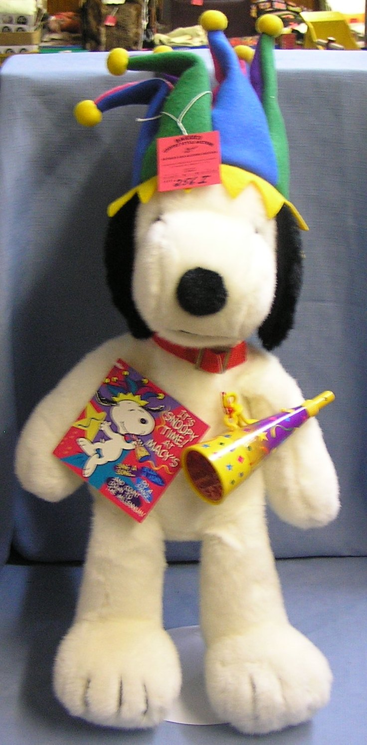 24 Inch Plush Limeted Editon Macy S Snoopy
