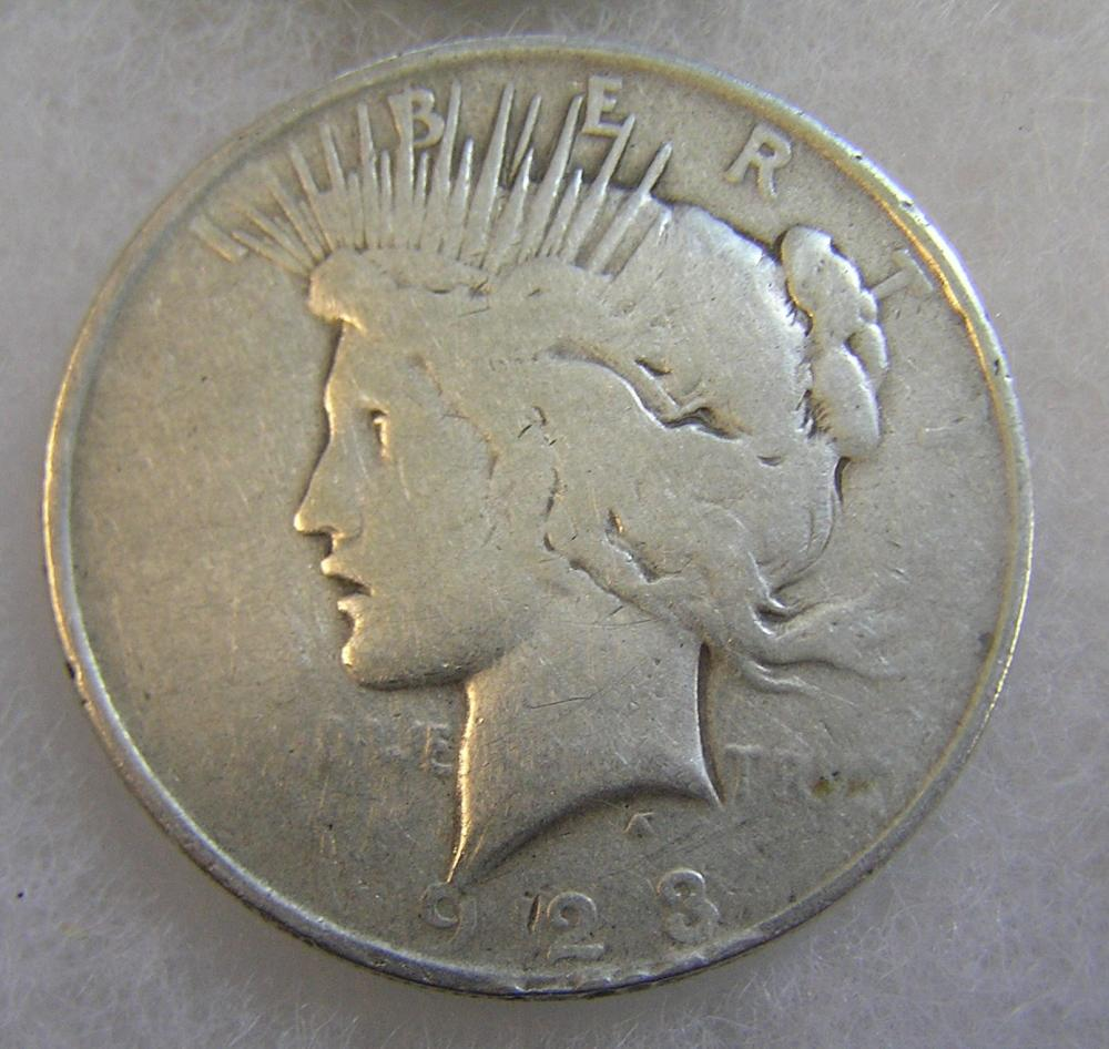 1923 LADY LIBERTY PEACE SILVER DOLLAR IN GOOD CONDITION