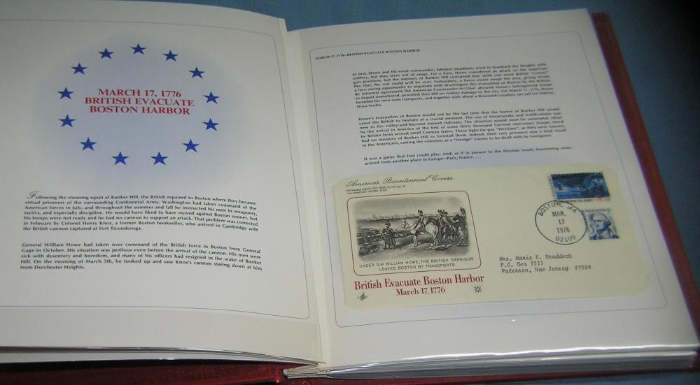 AMERICAN BICENTENNIAL STAMP AND COVER COLLECTION