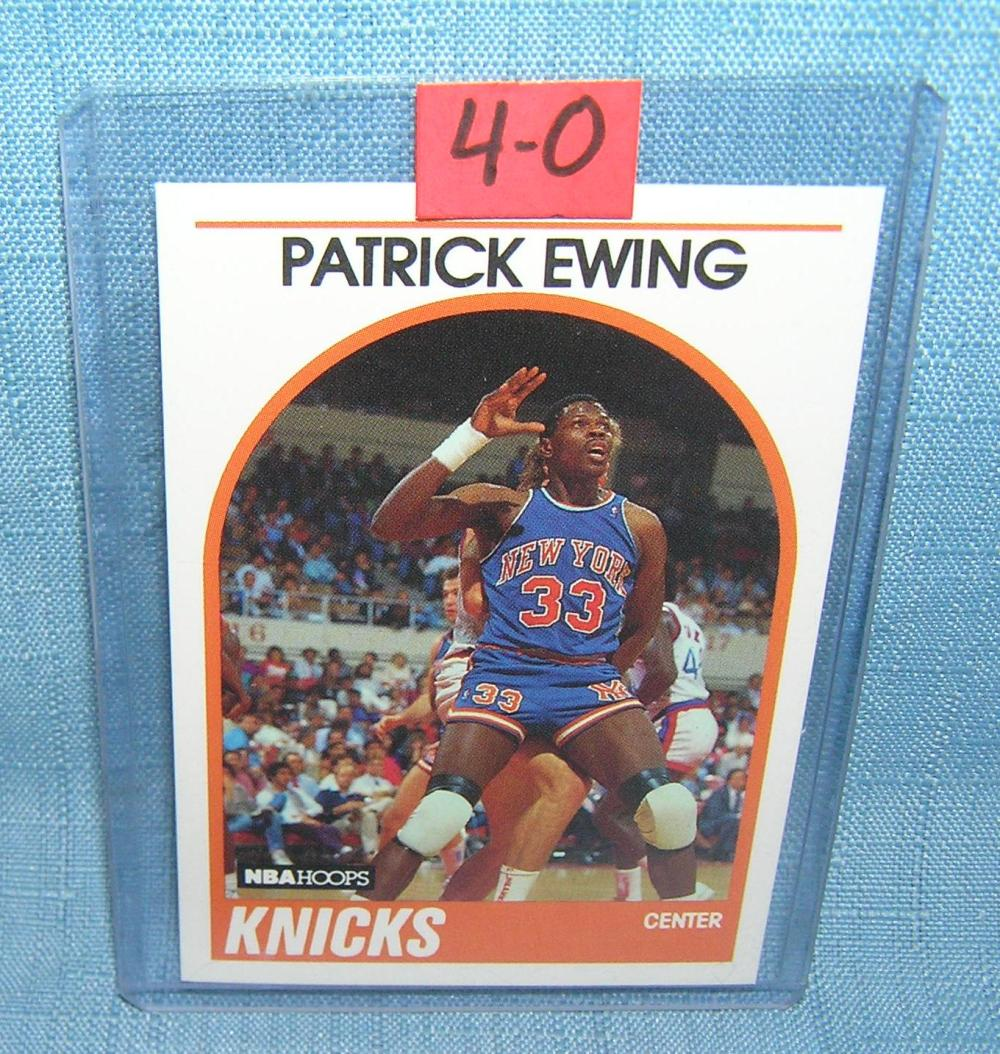 VINTAGE PATRICK EWING ALL STAR BASKETBALL CARD