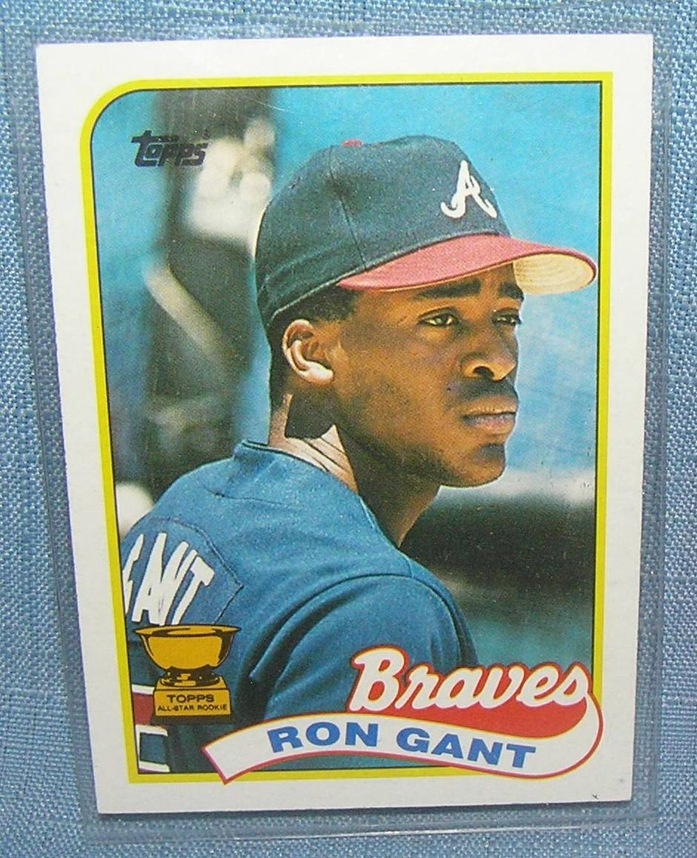 VINTAGE RON GANT ALL STAR ROOKIE BASEBALL CARD