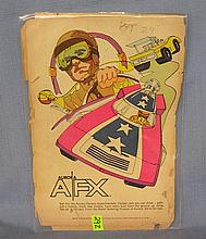 Vintage Aurora AFX and Ideal motor racing advertising ad
