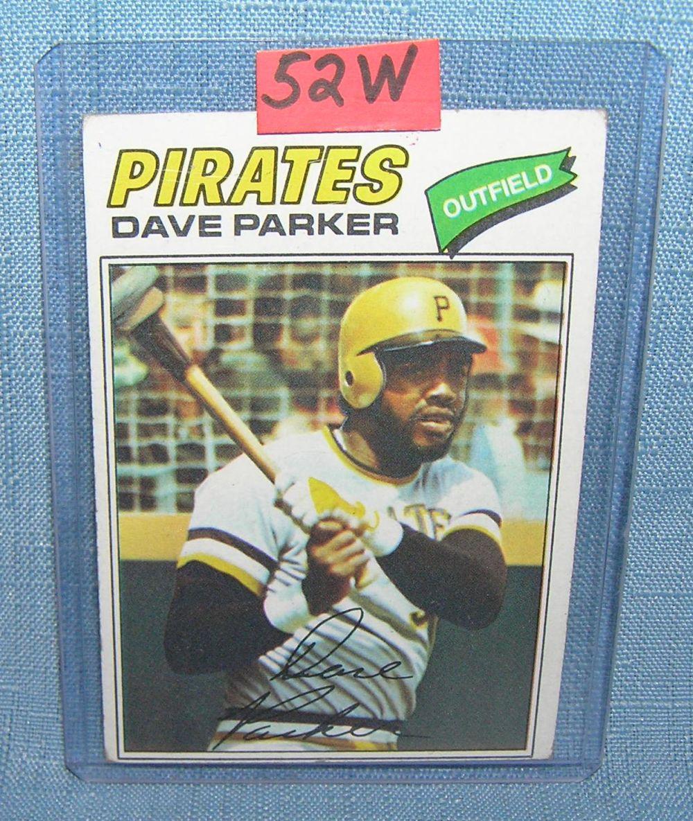 Vintage Dave Parker All Star Baseball Card