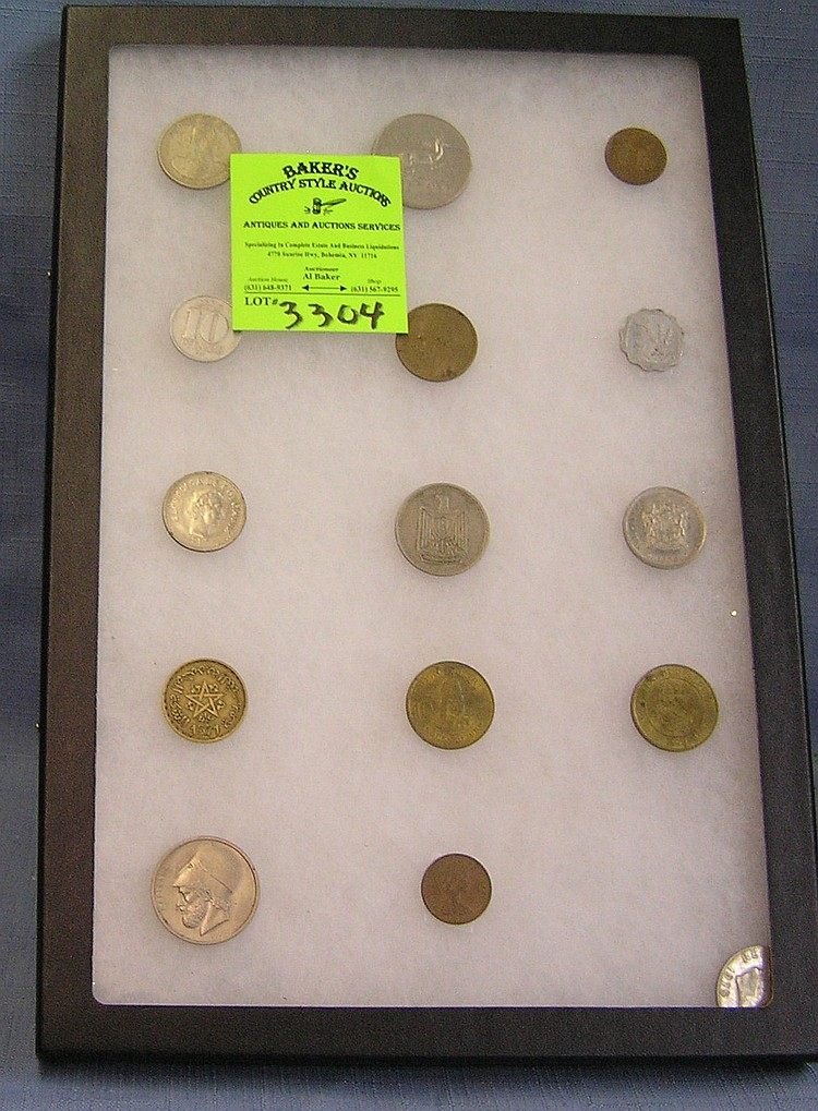 Group of vintage world coins