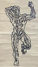 WILLIAM H. LITTLEFIELD (1902-1969), David 1, 1932, Ink