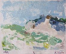 RAY NOLIN (1959-2015), Dunes, 1999, Monoprint