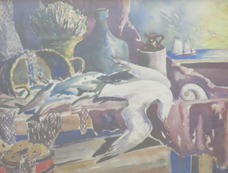 JAMES FLOYD CLYMER (1893-1992), Still Life, Oil