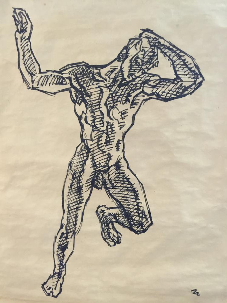 WILLIAM H. LITTLEFIELD (1902-1969), The Boy Phaeton, Ink