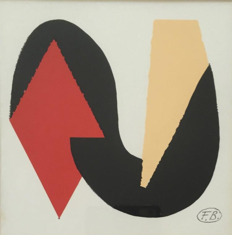 FRITZ BULTMAN (1919-1985), Untitled (Abstract), Tempera on paper