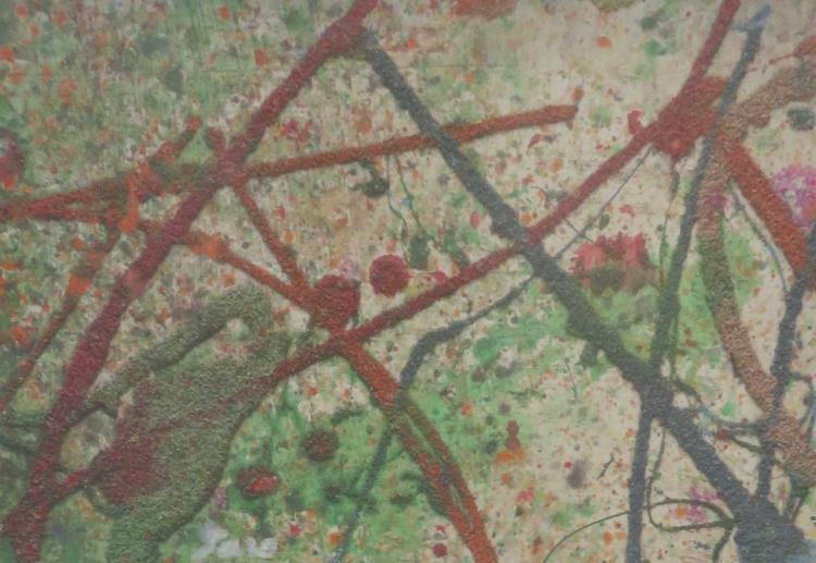 TARO YAMAMOTO (1919-1994), Untitled, 1972, Mixed media