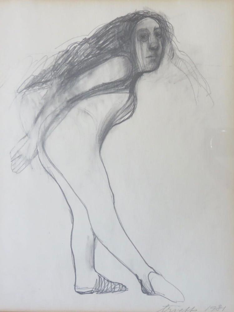 SELINA TRIEFF (1934-2015), Untitled, 1981, Graphite
