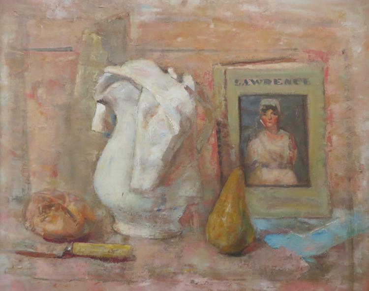 JOHN FRAZIER (1889-1966), Still Life, Oil