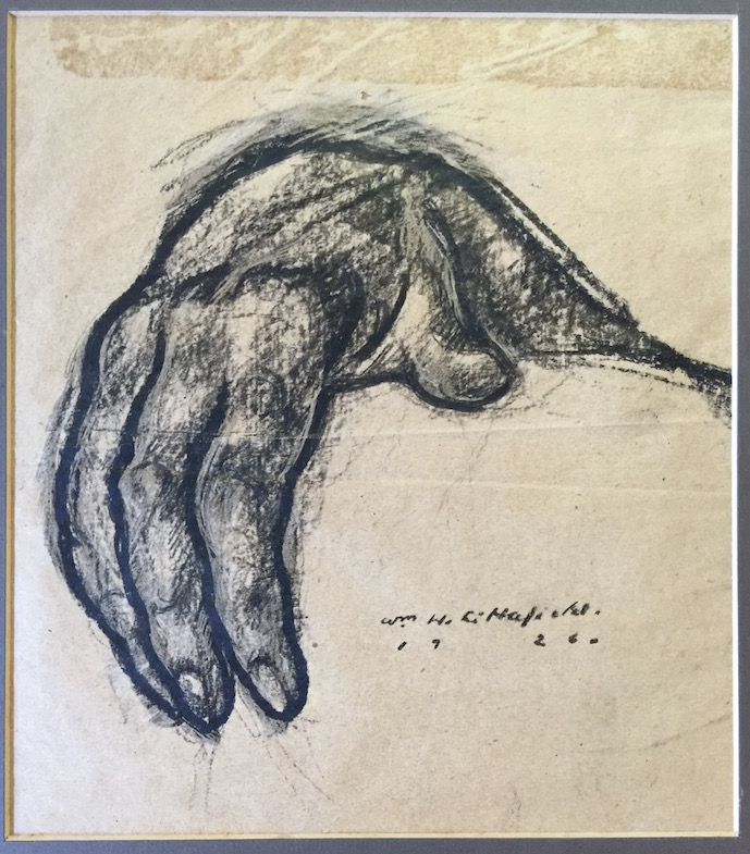 WILLIAM H. LITTLEFIELD (1902-1969), Hand, 1926, Ink