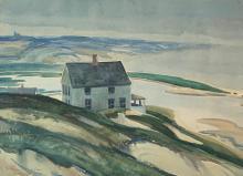 GLENN M. SHAW (1891-1981) Provincetown, 1934, Watercolor