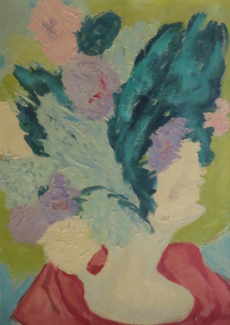 ELLA JACKSON (1894- ), Still Life, Oil